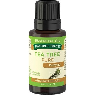 Nature's Truth Tea Tree Aromatherapy Essential Oil - 0.51 fl oz