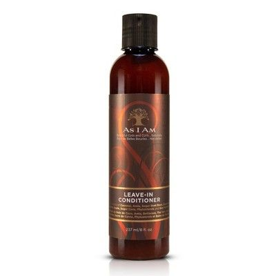 As I Am Leave In Conditioner - 8 fl oz
