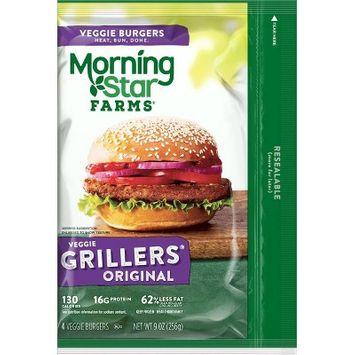 MorningStar Farms® Grillers® Original Burgers