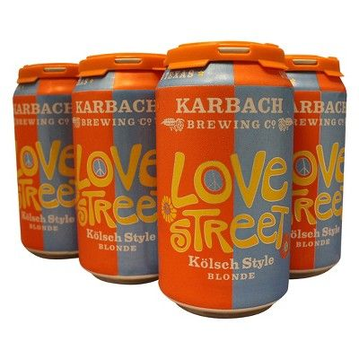 Karbach Love Street Kolsch Beer - 6pk/12 fl oz Cans
