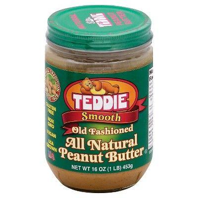 Teddie Smooth Peanut Butter 16oz