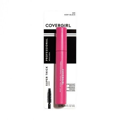 COVERGIRL Professional Super Thick Lash Waterproof Mascara 200 Very Black - 0.3 fl oz