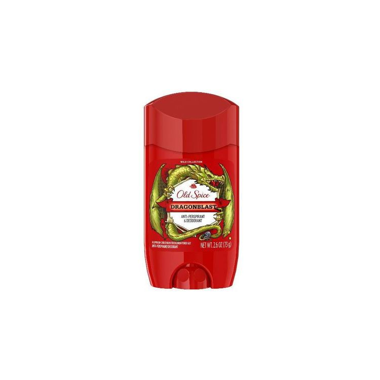 Old Spice Wild Collection Dragonblast Scent Invisible Solid Antiperspirant and Deodorant for Men, 2.6 oz