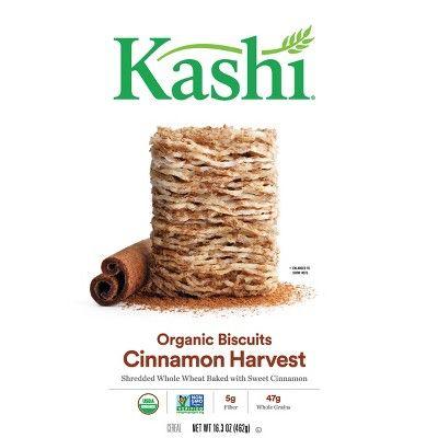 Kashi Organic Cinnamon Harvest Breakfast Cereal - 16.3oz