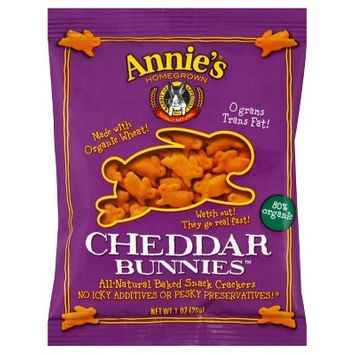 Annie's Cheddar Cheese Cracker - 1oz