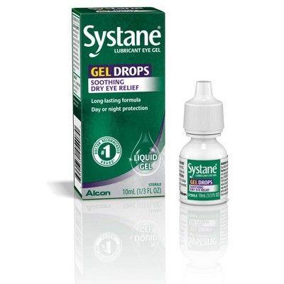 Systane Gel Drops Lubricant Eye Gel - 0.34 oz