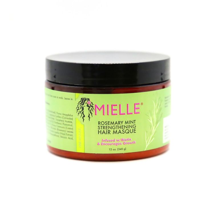Mielle Rosemary Mint Strengthening Hair Masque - 12oz
