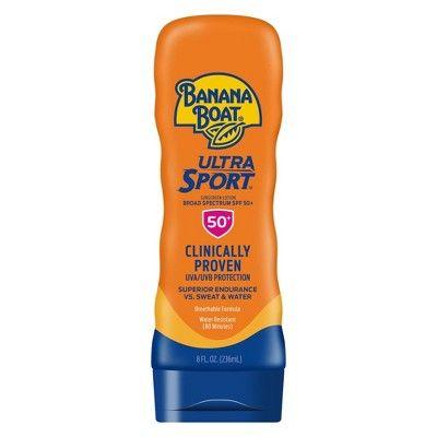 Banana Boat Ultra Sport Sunscreen Lotion - SPF 50+ - 8oz