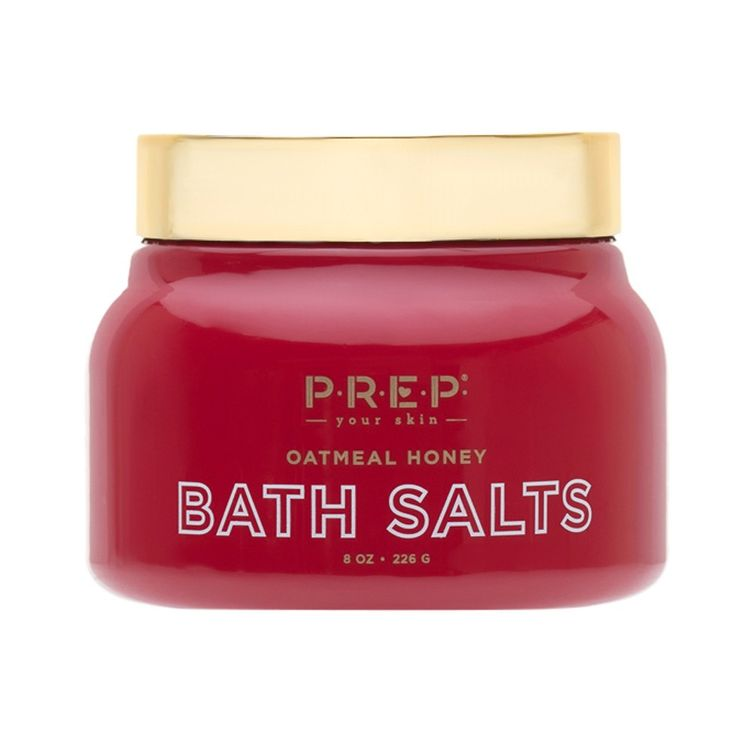 Prep Cosmetics Oatmeal Honey Bath Salt - 10oz