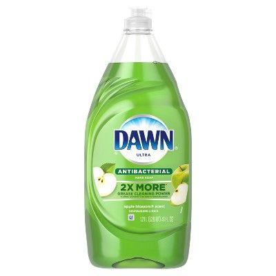 Dawn Ultra Antibacterial Hand Soap Apple Blossom Dishwashing Liquid Dish Soap - 41 fl oz