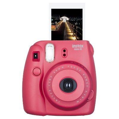 Fujifilm Instax Mini 8 Instant Film Camera - Raspberry (16443917)