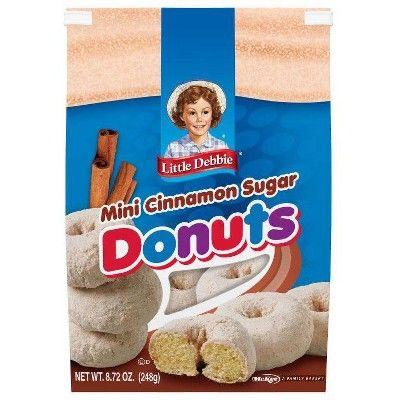 Little Debbie Cinnamon Sugar Bagged Mini Donuts 8.72oz