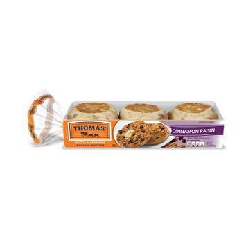 Thomas Original Nooks & Crannies Cinnamon Raisin English Muffins - 13oz/6ct