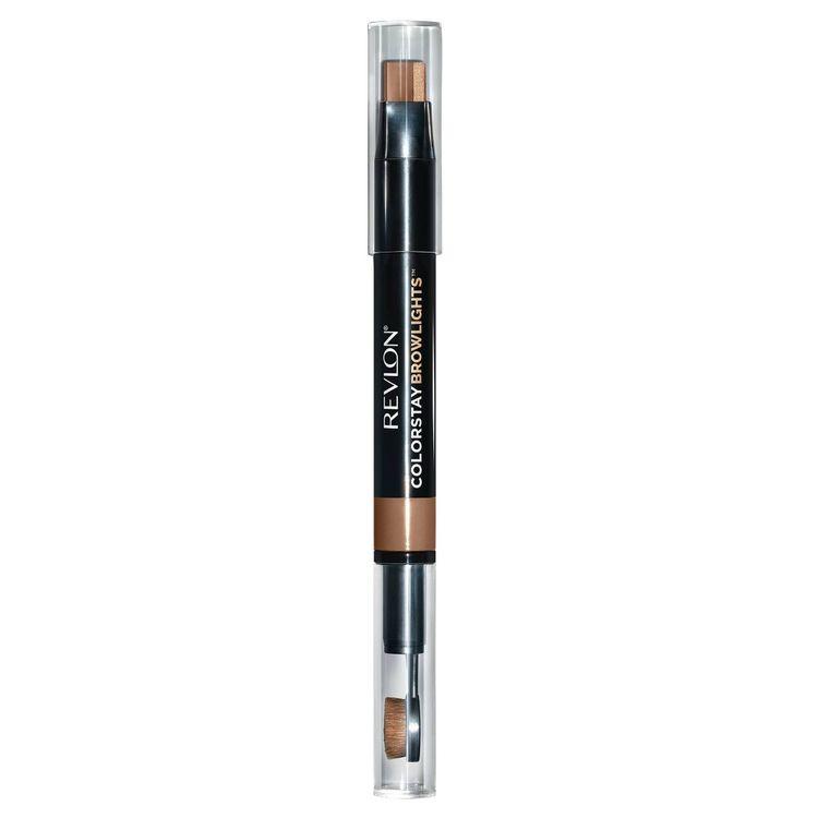Revlon ColorStay Browlights Eyebrow Pencil and Brow Highlighter 402 Soft Brown - 0.038oz