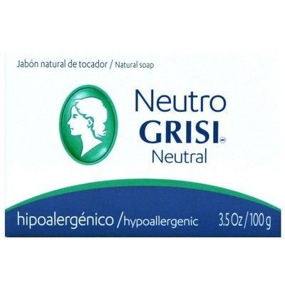 Grisi Neutral Hypoallergenic Soap - 3.5oz