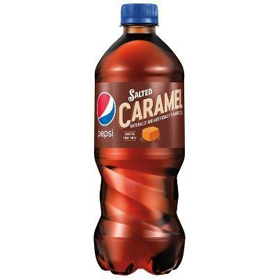 Pepsi Salted Caramel Cola - 20 fl oz Bottle