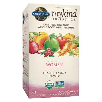 Garden of Life My Kind Organic Women's Daily Multivitamin Tablets - 30ct
