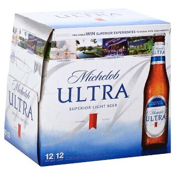 Michelob Ultra Superior Light Beer - 12pk/12 fl oz Bottles
