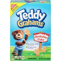 Teddy Grahams Birthday Cake Graham Snacks - 10oz