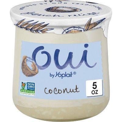 Oui by Yoplait Coconut Flavored French Style Yogurt - 5oz