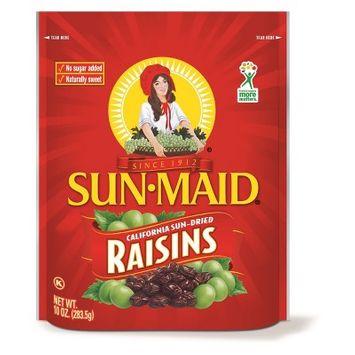 Sun-Maid Natural California Raisins 10 oz