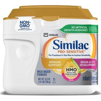 Similac Pro-Sensitive Non-GMO Infant Formula with Iron Powder - 22.5oz
