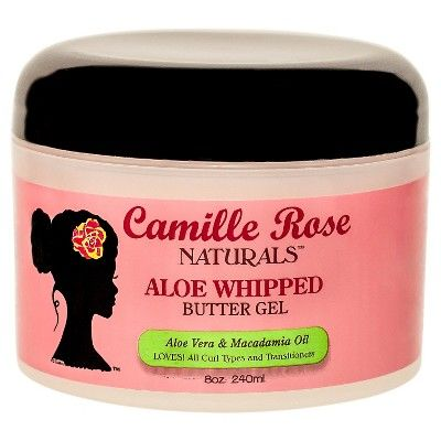 Camille Rose Naturals Aloe Whipped Butter Gel - 8oz