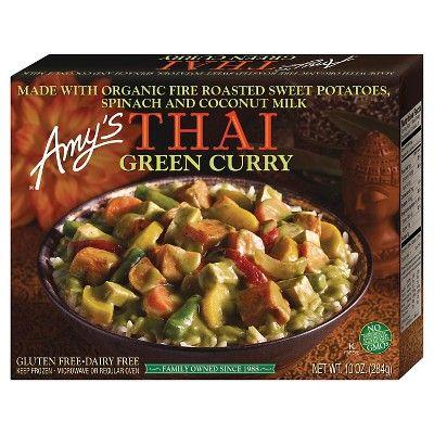 Amy's Frozen Thai Green Curry - 10oz