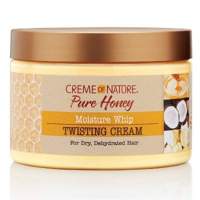 Cream of Nature Pure Honey Moisture Whip Twisting Cream - 11.5oz