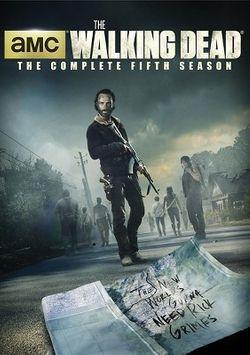 The Walking Dead: Season 5 (5 Discs) (dvd_video)