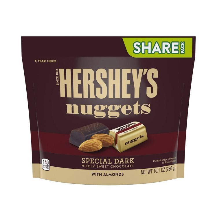 Hershey Nuggets Nuggets Dc Almond Sub 10.1 Oz