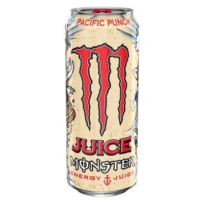 Monster Energy Drink Pacific Punch Pre Release Can Sku 0418n