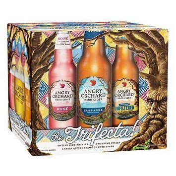 Angry Orchard Hard Cider Trifecta Variety Pack - 12pk/12 fl oz Bottles