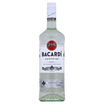 Bacardi Light Rum - 1L Bottle