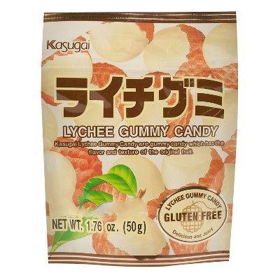 Kasugai Lychee Gummy Candy 1.76 oz