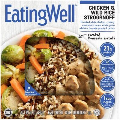 EatingWell Chicken & Wild Rice Stroganoff Frozen Prepared Meal - 10oz