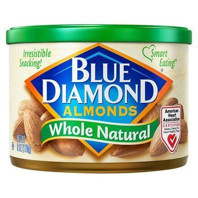 Blue Diamond Almonds Whole Natural - 6oz