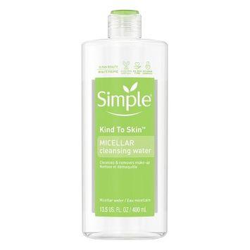 Simple Micellar Cleansing Water - 13.5 fl oz