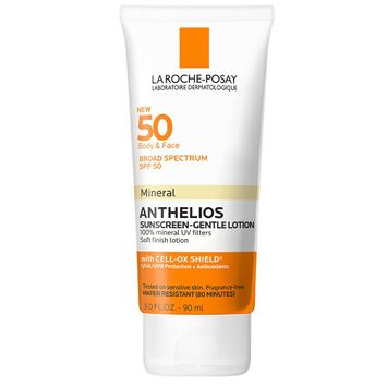 La Roche Posay Anthelios Body and Face Sunscreen Lotion - Spf 50 - 3.04 fl oz