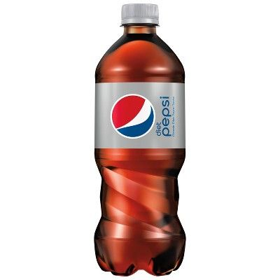 Diet Pepsi Cola Soda- 20 fl oz Bottle