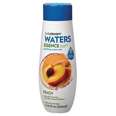 SodaStream Waters - Essence Peach Flavor Mix (440ml)