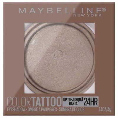 Maybelline Color Tattoo Eye Shadow High Roller - 0.14oz
