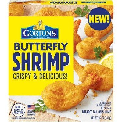 Gorton's Breaded Butterfly Shrimp - 9.2oz