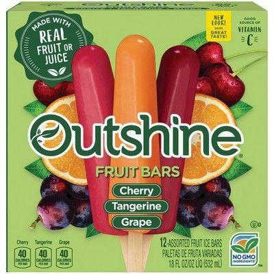 Outshine Cherry, Tangerine, Grape Fruit Bars