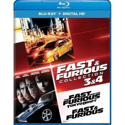 Fast & Furious: Tokyo Drift / Fast & Furious (Blu-ray)