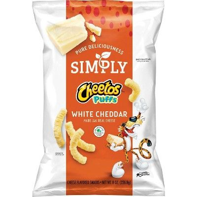Simply Cheetos White Cheddar Puffs - 8oz