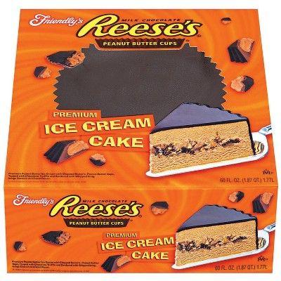 Friendly's Reese's Peanut Butter Cups Premium Ice Cream Cake - 60 fl oz