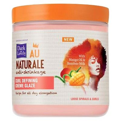 Dark and Lovely Au Naturale Curl Defining Crème Glaze 397g