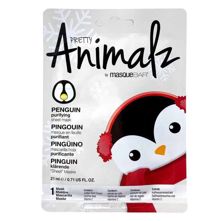 Look Beauty Animalz Penguin Sheet Mask - 0.71 fl oz