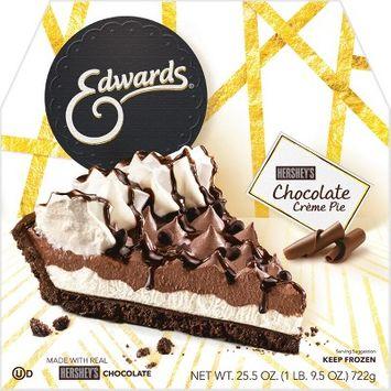 Edwards Hersheys Frozen Chocolate Creme Pie